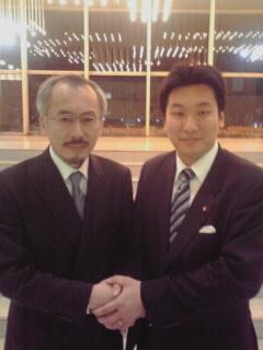 水谷先生と橋本岳